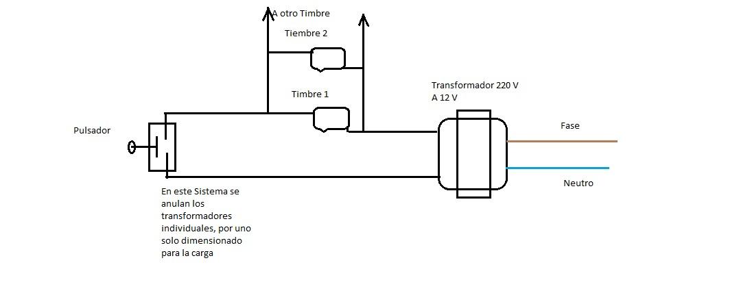Poner un timbre mas en casa que no se en paralelo electricidad del hogar yoreparo - Timbre de casa ...