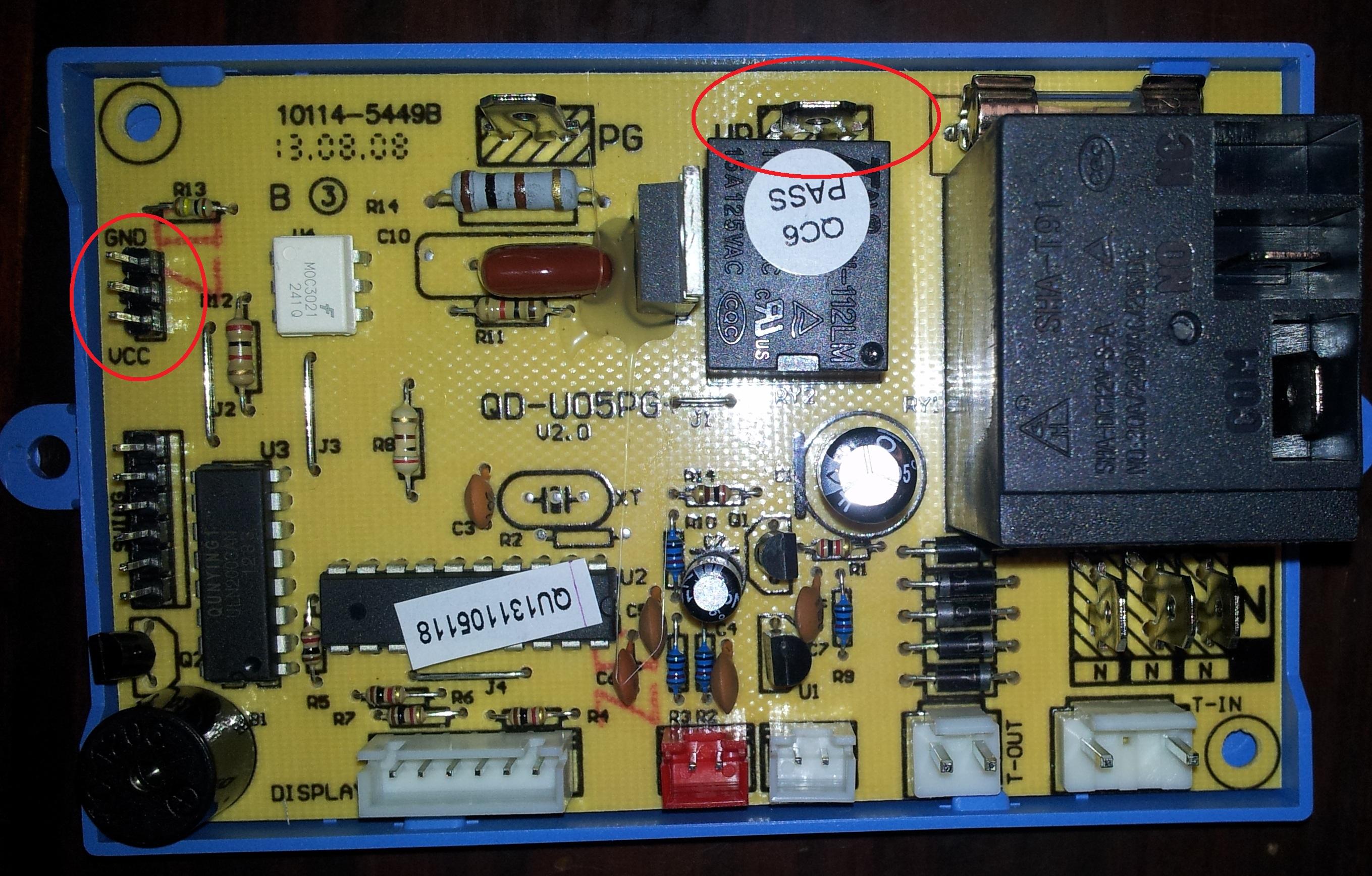 Como cambiar plaqueta de aire acondicionado sistema de for Placa electronica aire acondicionado