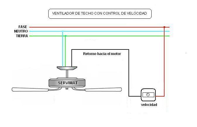 Ventilador mitek de techo 3125 diagrama de conexion yoreparo - Instalacion de ventilador de techo ...