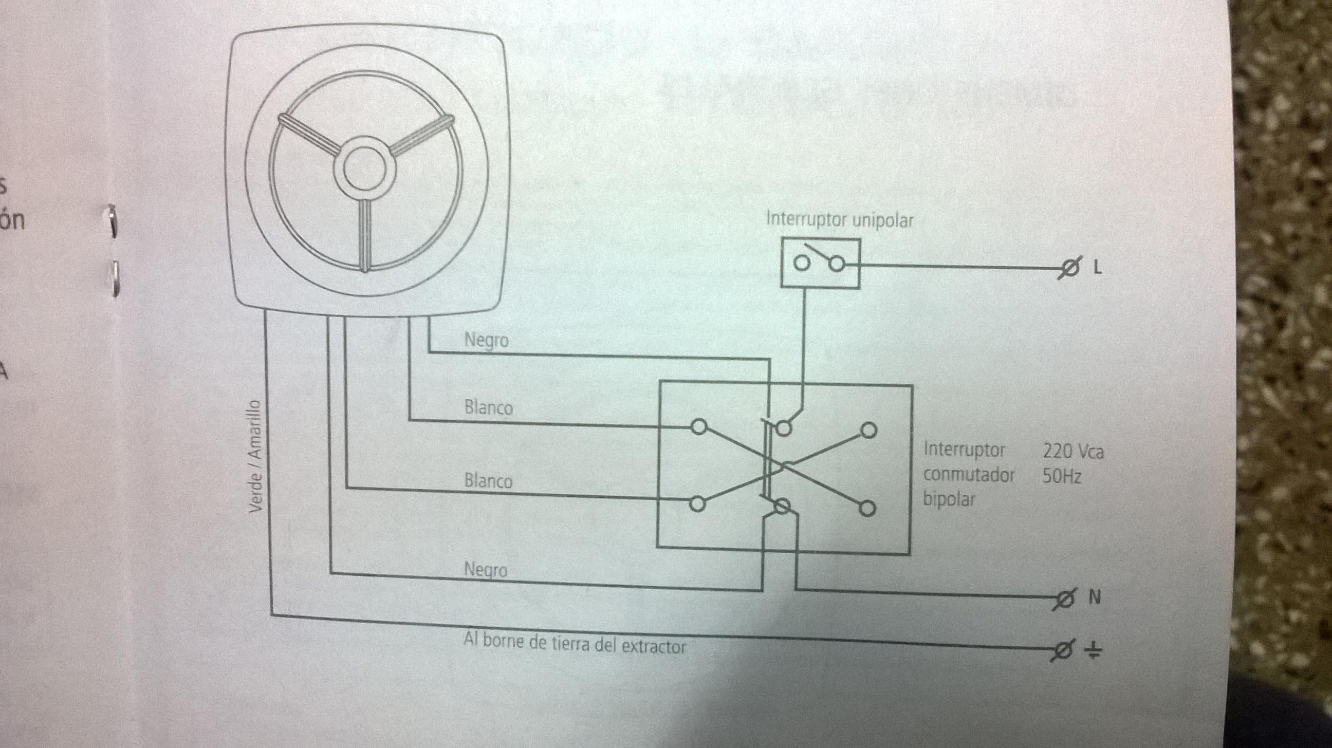 Instalacion de extractor de aire airea condicionado - Instalacion extractor bano ...