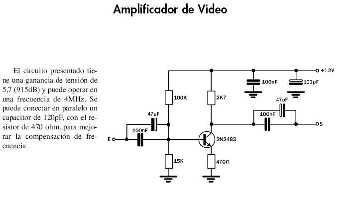 Solucionado amplificador se al de video por rca - Amplificador senal tv ...