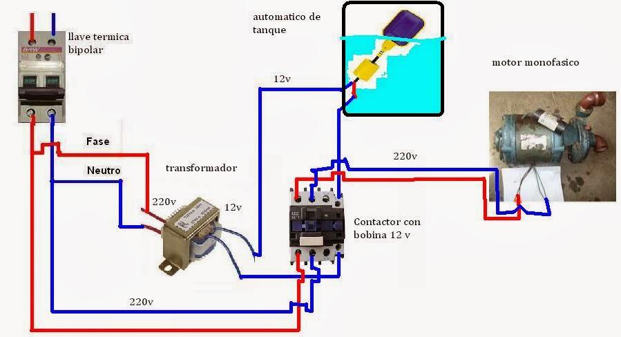 Circuito Tanque : Solucionado automatizar bomba y tanque de agua bombas