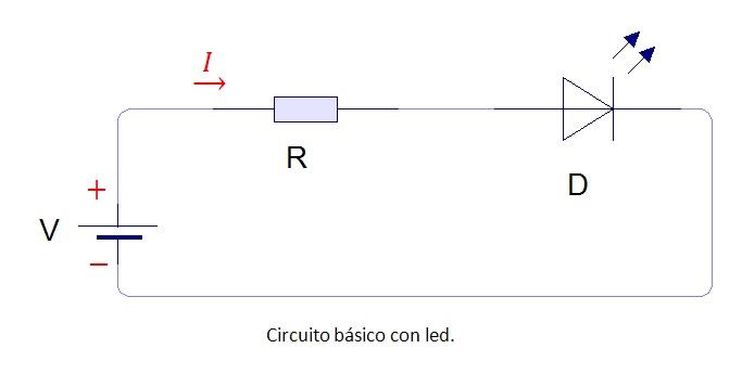 Circuito Led : Solucionado resistencia con diodo led yoreparo