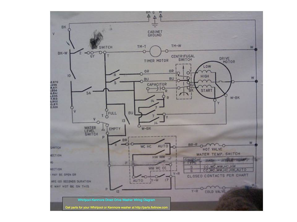 frigidaire dishwasher wiring schematic frigidaire electric