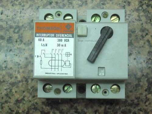 Solucionado interruptor diferencial o disyuntor yoreparo - Interruptor diferencial precio ...