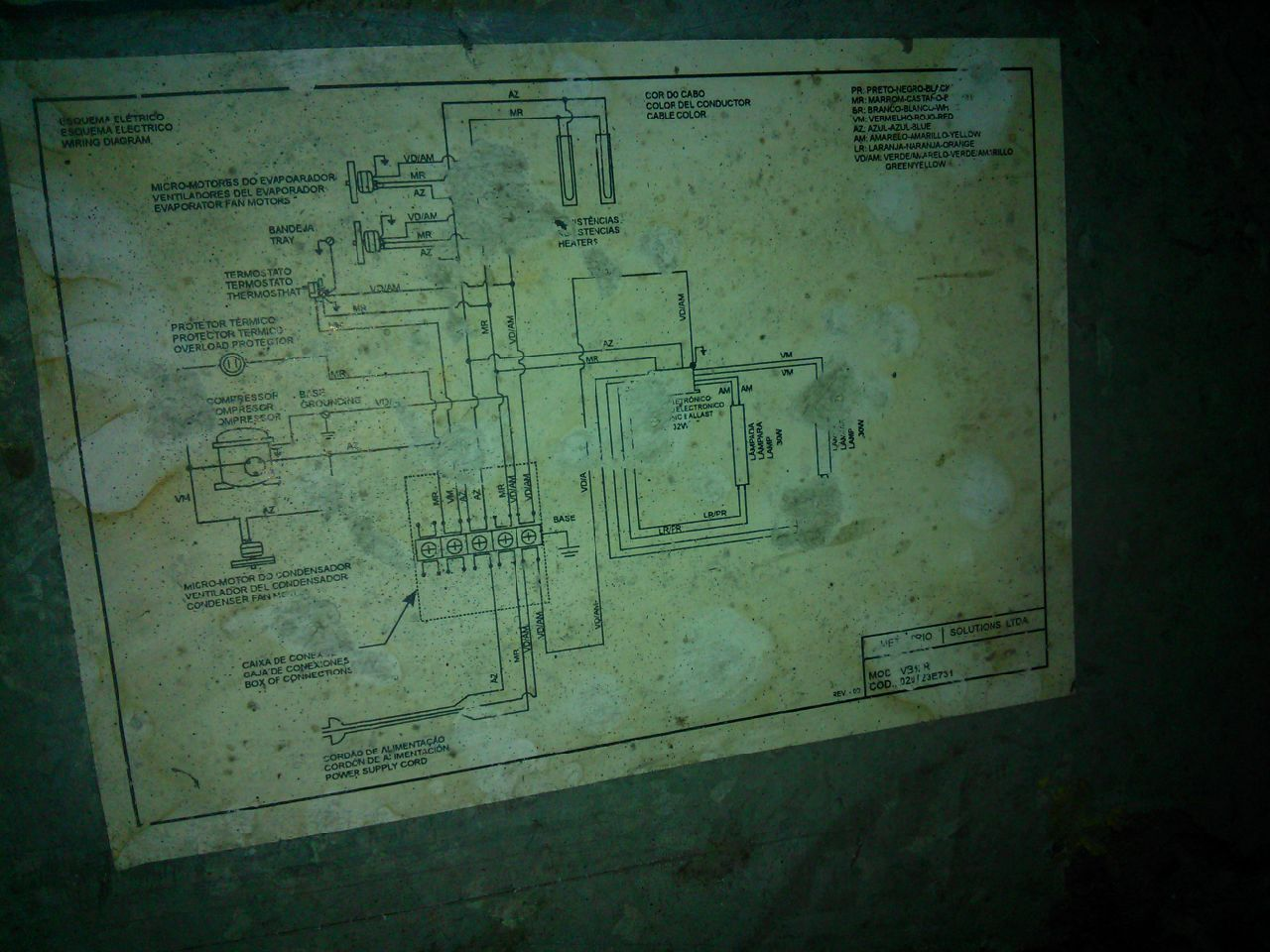 Circuito Electrico Heladera Comercial : Heladera exhibidora no enfría yoreparo