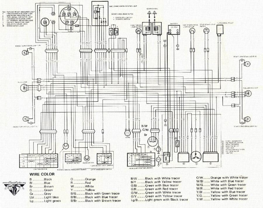 honda mt125 wiring diagram  honda  get free image about