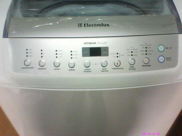 Lavadora electrolux acqua plus no centrifuga
