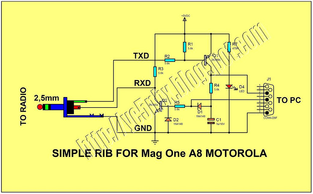 Magone on Kenwood Programming Cable Schematic