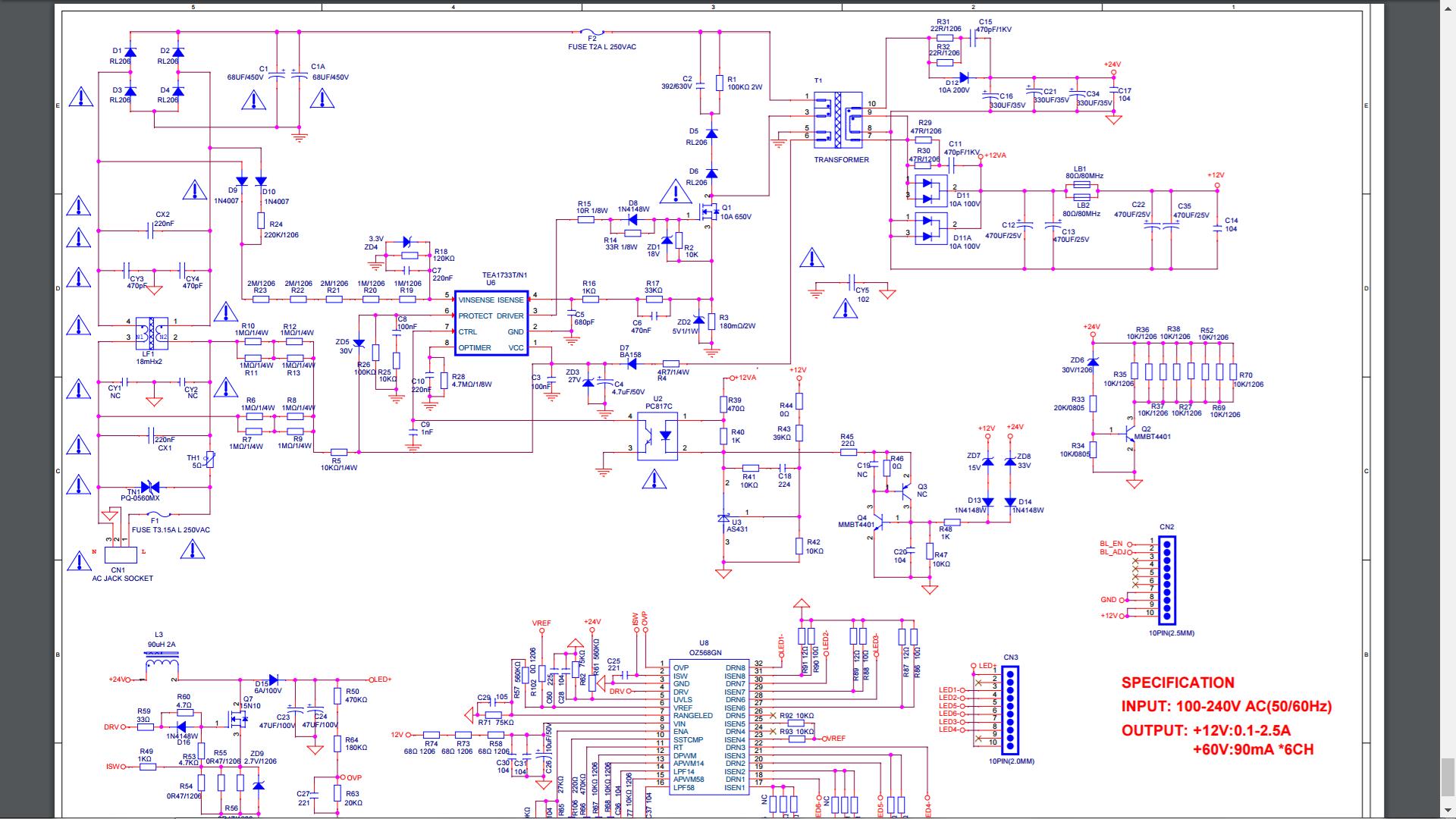 Solucionado  Busco Diagrama Fuente Philco Pld3225ht