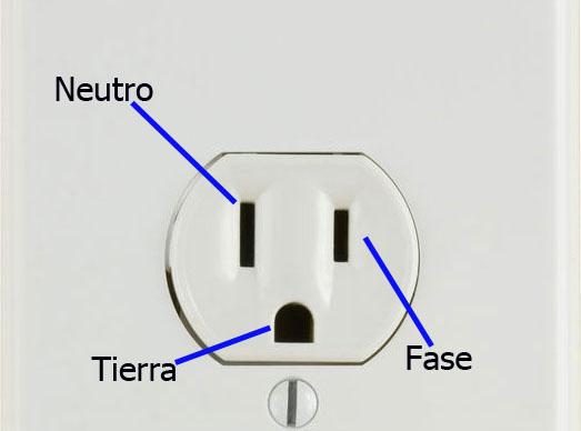Image result for imagen de toma electrica con voltajes de 110