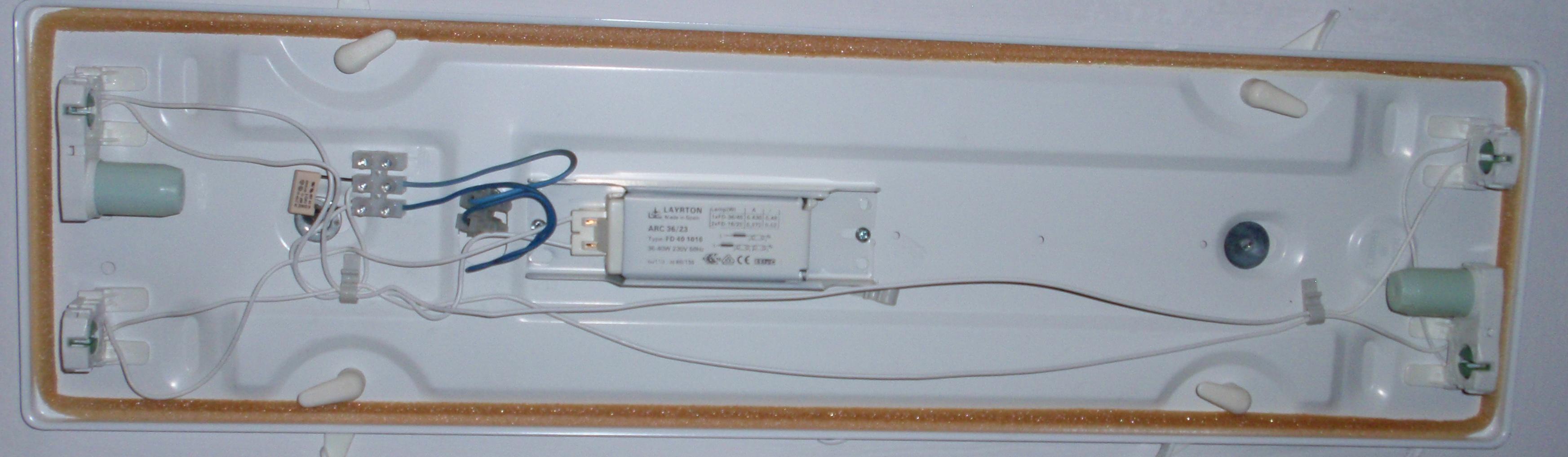 Solucionado cambiar tubos led en pantalla 2 tubos yoreparo - Tubos fluorescentes de led ...