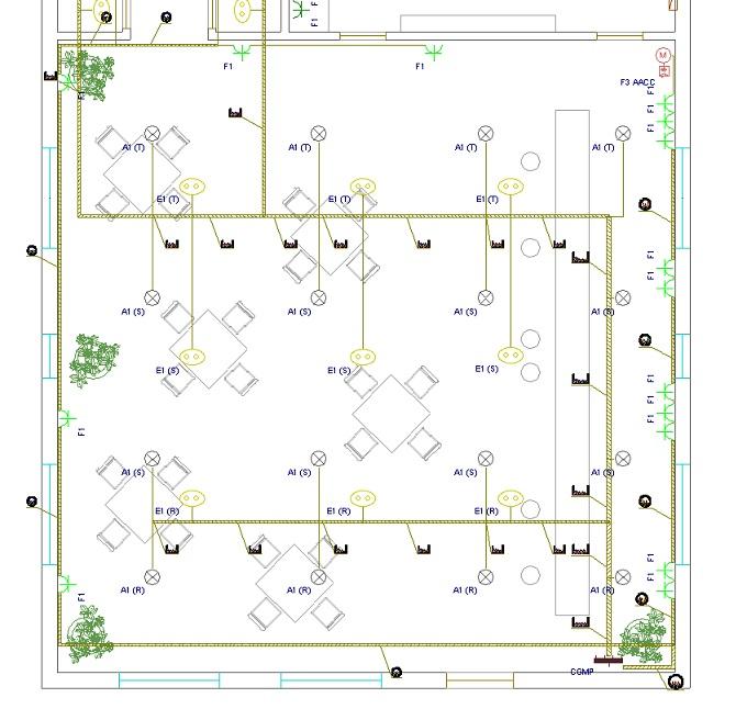 Distintas t cnicas representadas en un plano electrico - Hacer instalacion electrica domestica ...