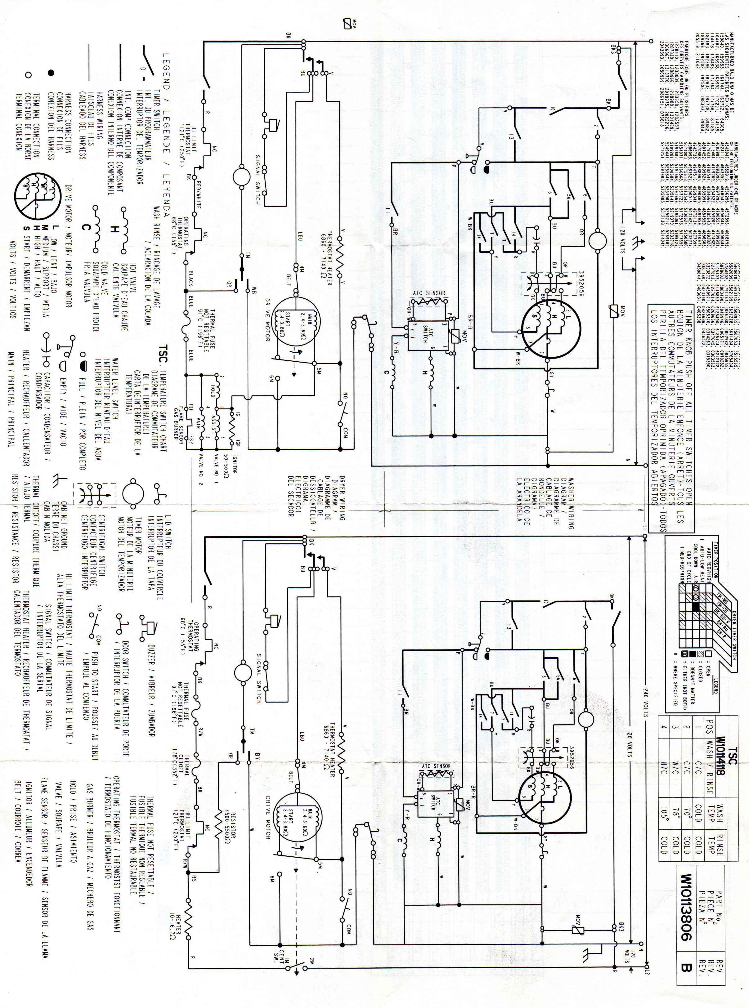 Solucionado: Como conectar una secadora con 110V que trabaja a 220V ...