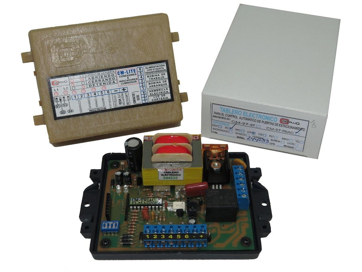 Solucionado diagrama de tarjeta porton electrico for Motor porton electrico
